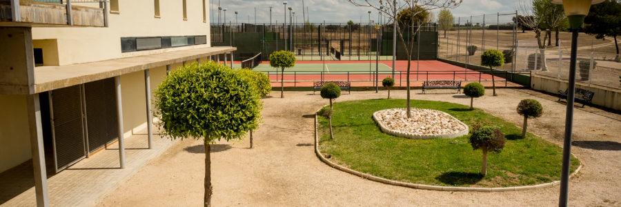 Entrada – Pistas Tenis Club