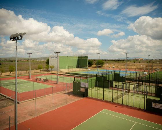 Pistas de Tenis y Padel
