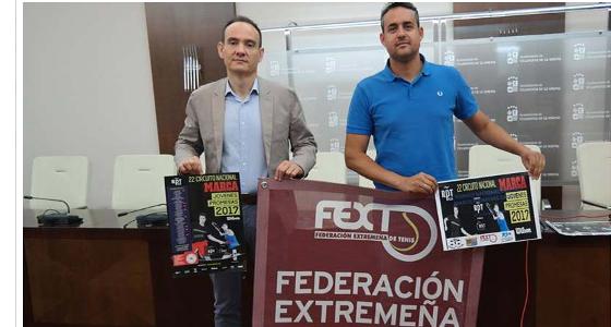 El Torneo Marca de Tenis se celebrará en Villanueva de la Serena del 16 al 21 de mayo