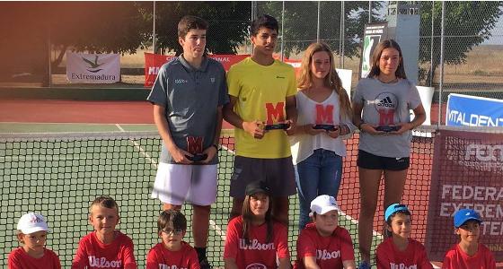 Diego Barreto y Lucía Santos Campeones del Marca Jóvenes Promesas